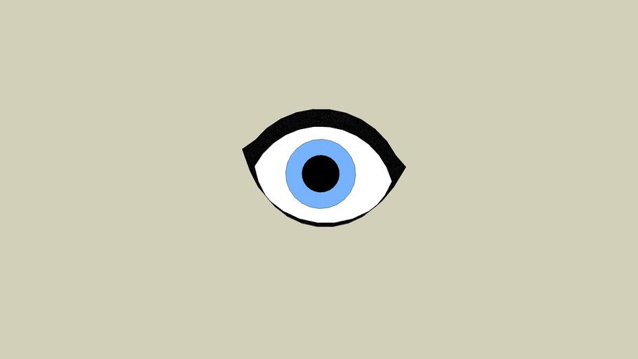 staring eye