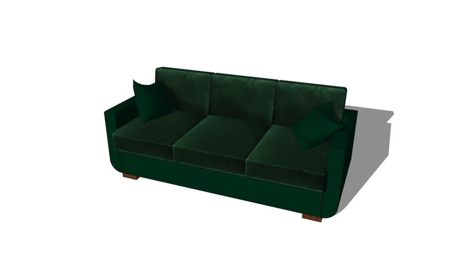 Sofa Odeon Green