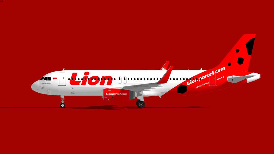 Lion Air Airbus A320-200 U WL Lion Parcel 3