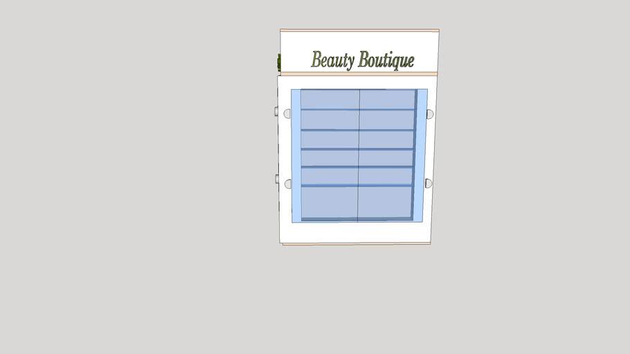 Irida beauty boutique reception
