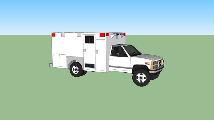 ambulance type l chevrolet silverado model 1994