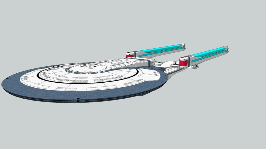 Excelsior class MK.3 Federation Cruiser