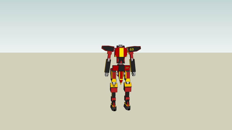 Giant Robot Basic - Gundam Style