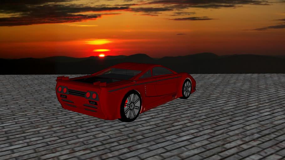 Saleen SX8 Twin Turbo Concept