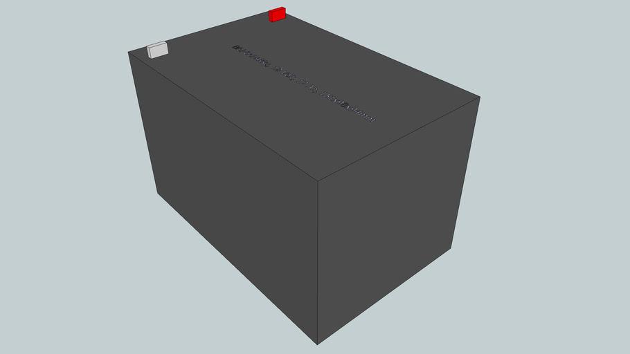 Blei-Gel-Akku, 12 Volt, 12 Ah, 151x98x94mm