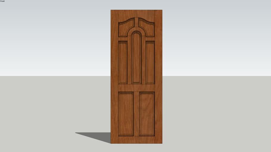 Wood Door 04