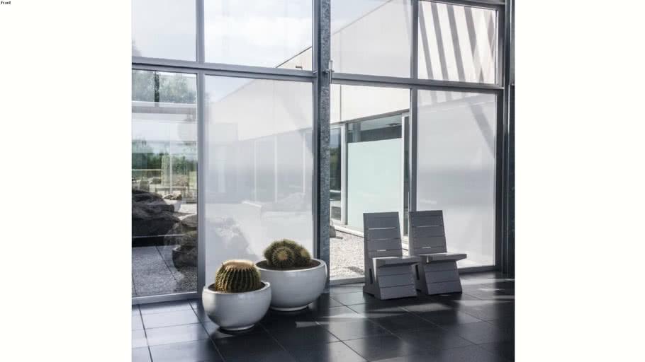 Tissus adhésifs pour vitres Acte-Deco Squid Chalk
