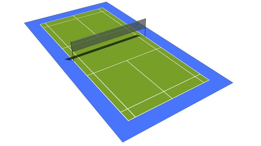 Standard Badminton Court