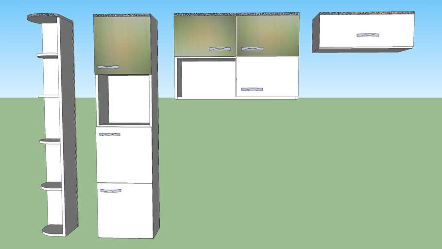 Armário para cozinha (dinâmico)