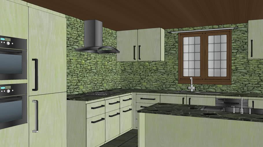 Apartment sized kitchen