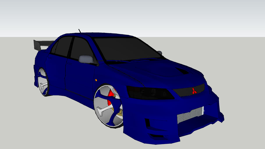 Mitsubishi Evo 9 (Altered)