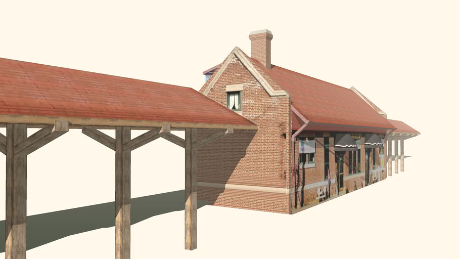 Monument Beach Railroad Station