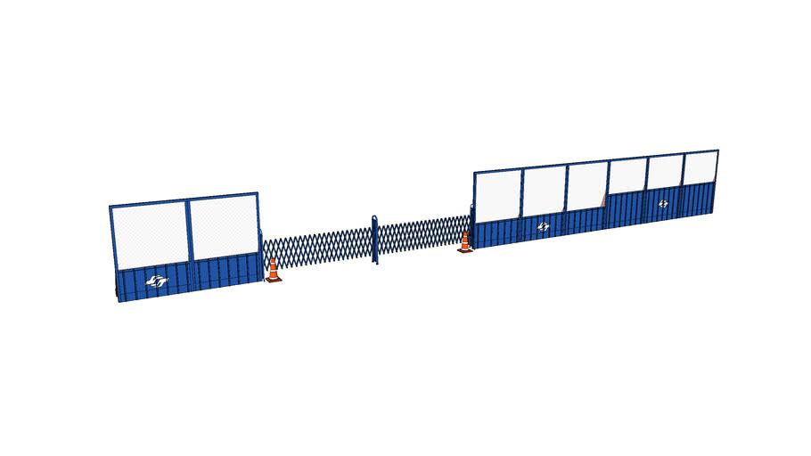台北捷運施工圍籬 | 3D Warehouse