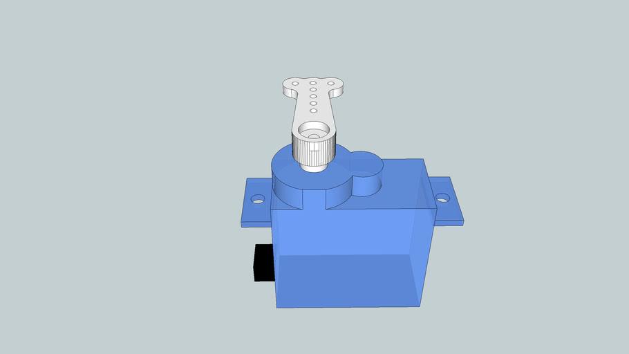 Spektrum DSP75 servo with standard arm