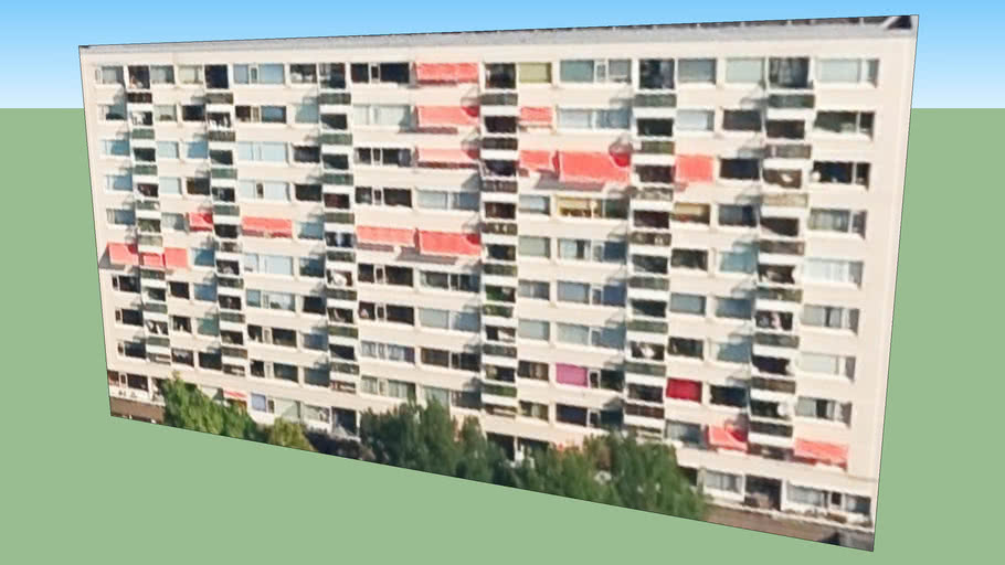 Gebouw in Rotterdam, Nederland