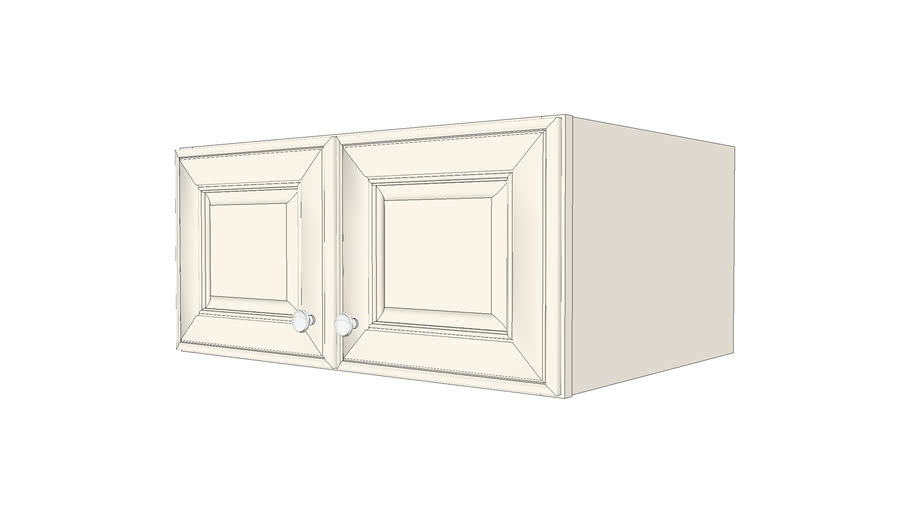 Wall Cabinets - Jamison Maple Canvas Paint by KraftMaid® Cabinetry