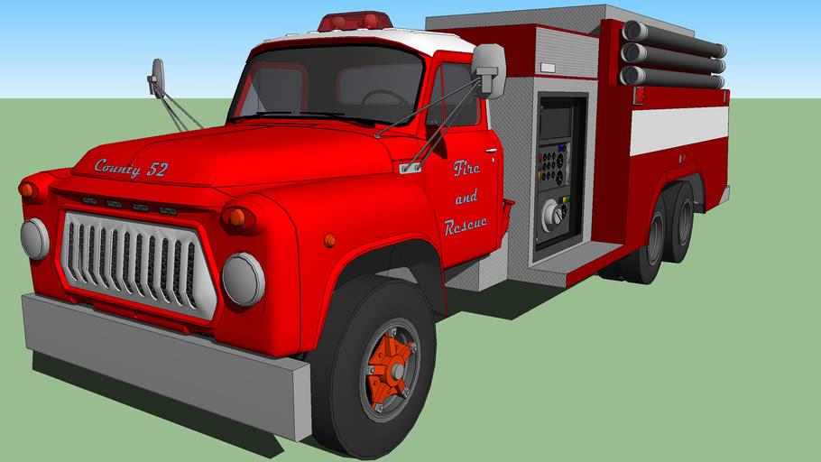 International fire engine