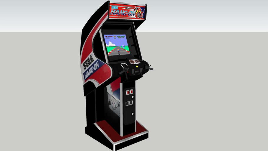 Hang-On arcade game