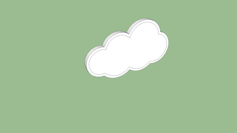 Luminária de nuvem