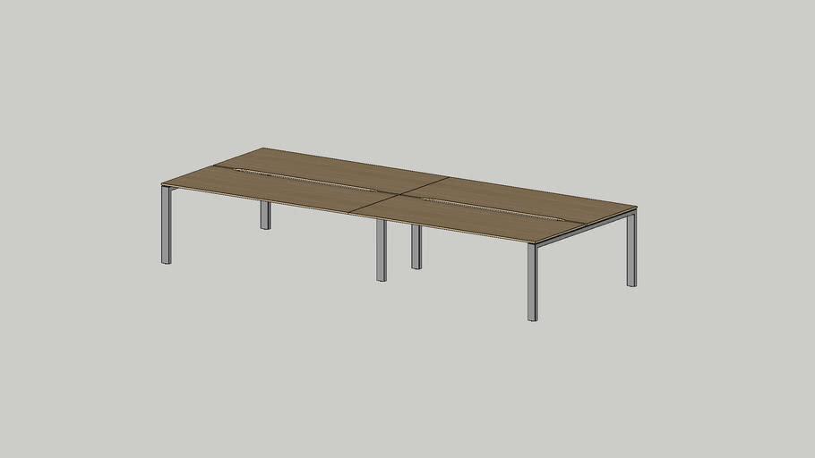No.1 working bench 4000x1625 cutout