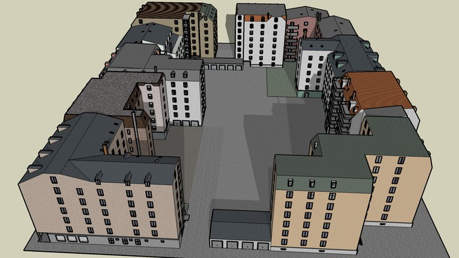 Häuserblock