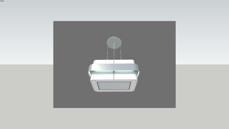 coifa de ilha brastemp vitreous