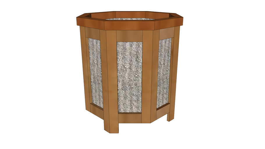Plant Stand - Octagonal