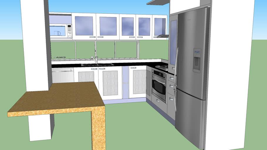Cocina comapleta - Kitchen design