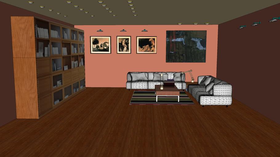 bookcase room