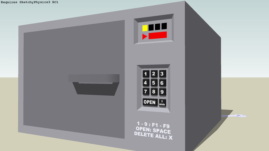 combination safe *SketchyPhysics*