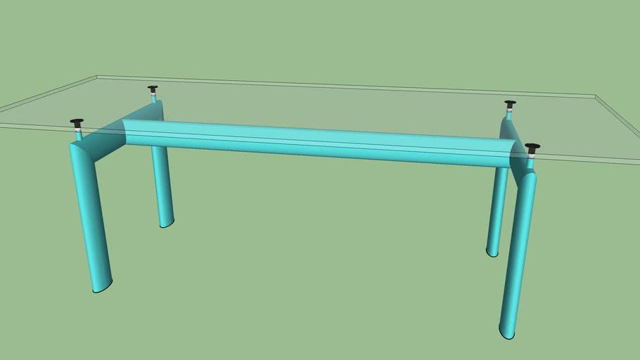 LC6 Le Corbusier_struttura azzurra