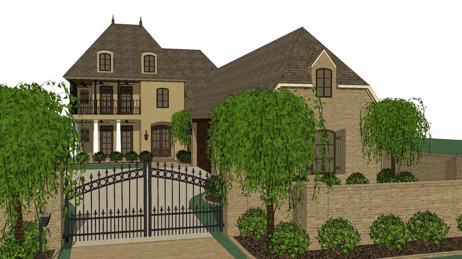 Custom Home by Dean Home Design