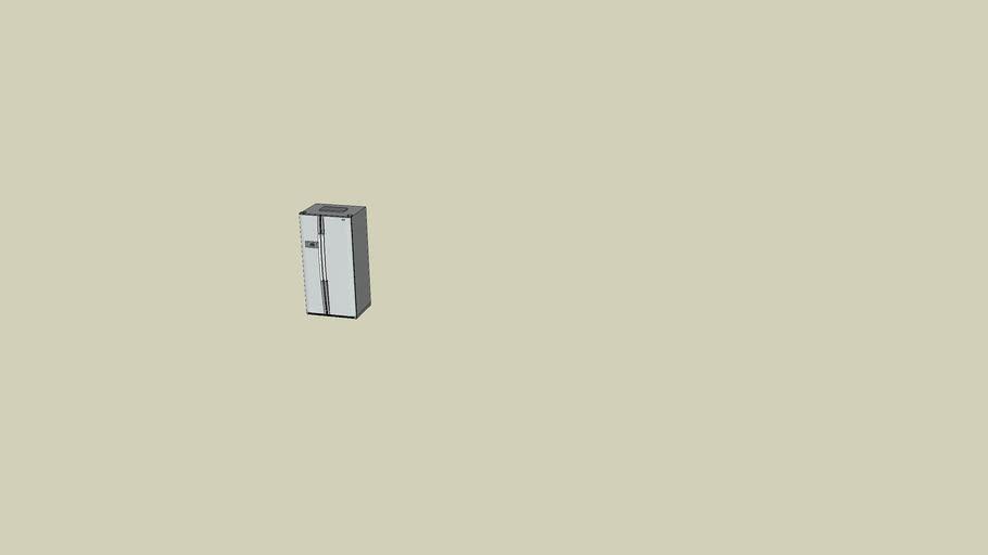 LG GRB207 double door fridge