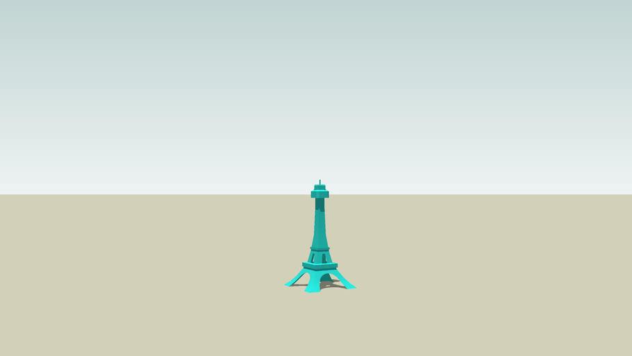 Kings Island Eiffel Tower