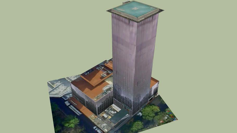 Building at Paseo de la Reforma (Mexico City)