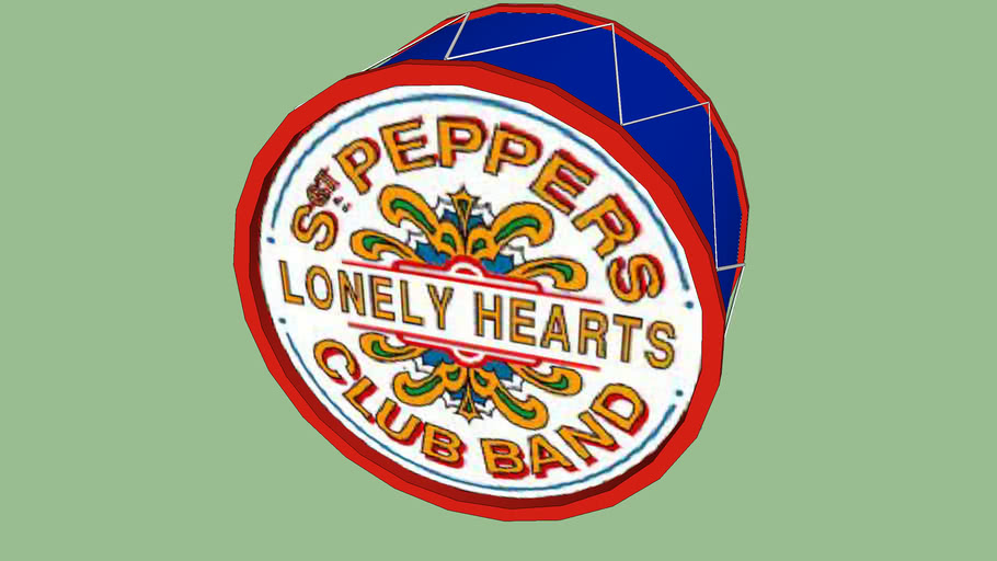 sargent peppers drum