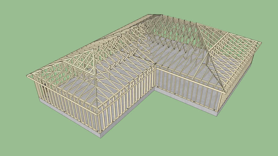 Hip Roof 9 3d Warehouse