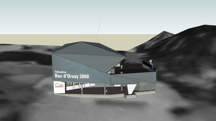 Télécabine Roc d'Orsay à Villars-sur-Ollon - Station basse