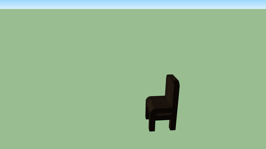 Kid's wooden chair