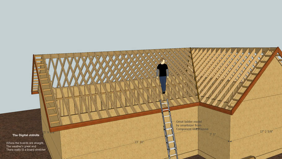 A Tale of Two Pitches: Off Angle Hip/Valley Roof Framing Details