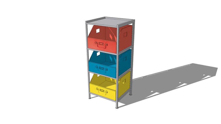 Cabinet rangement COLORS, maisons du monde, Réf. 143200, Prix: 89,99€
