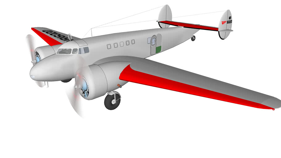 Lockheed Electra L-10E Special
