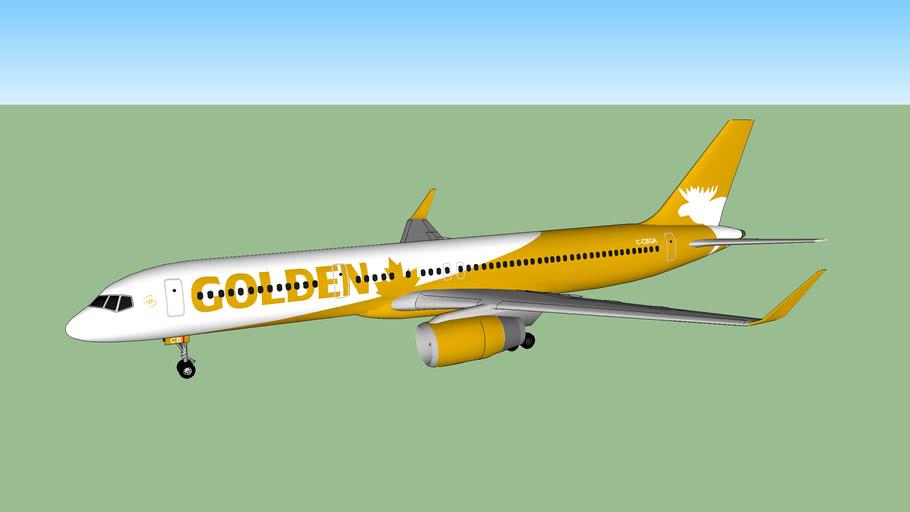 Golden Moose Airways 757-215/WL (2015)