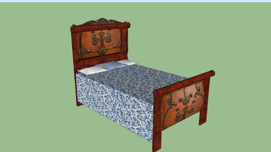 Rare Antique Bed – E. Dulitz Furniture Company
