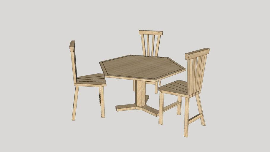 dinner table 236