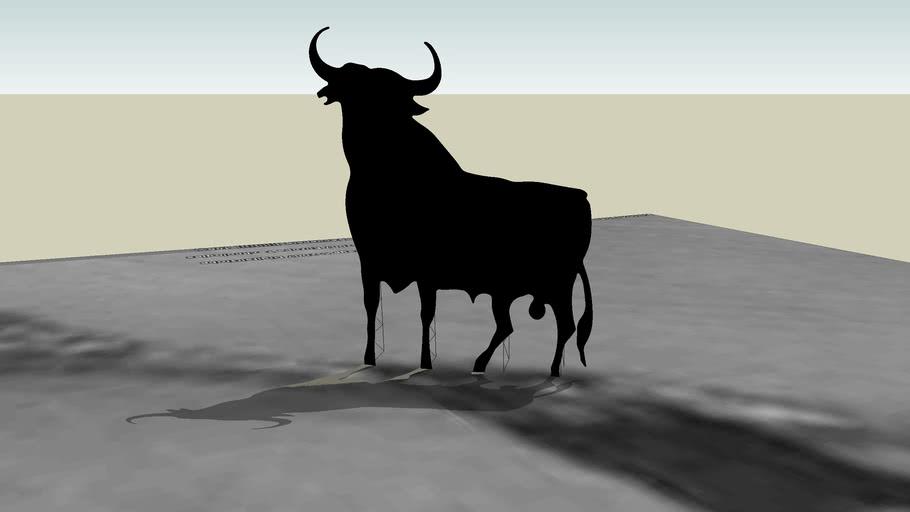 Toro en La Muela