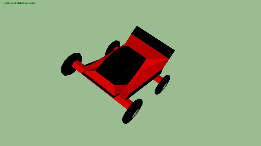 Simple Sketchyphysics Car