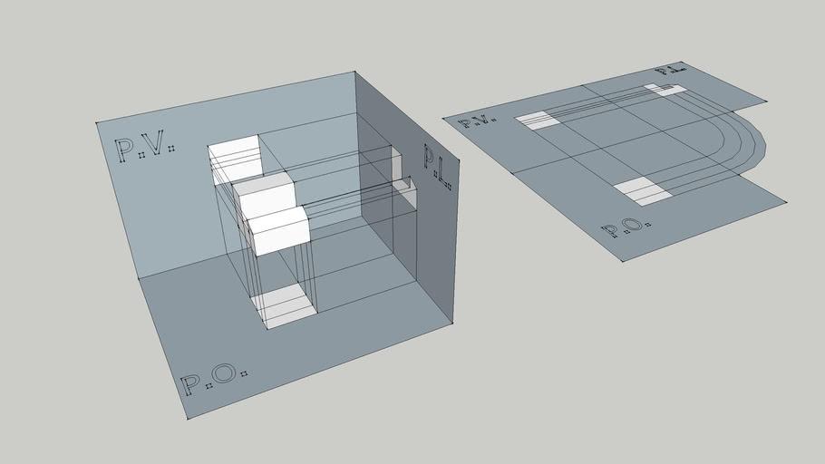 Proiezioni ortogonali 01