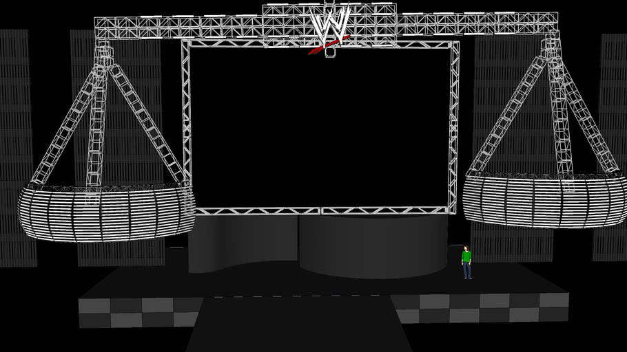 WWE Judgment Day stage