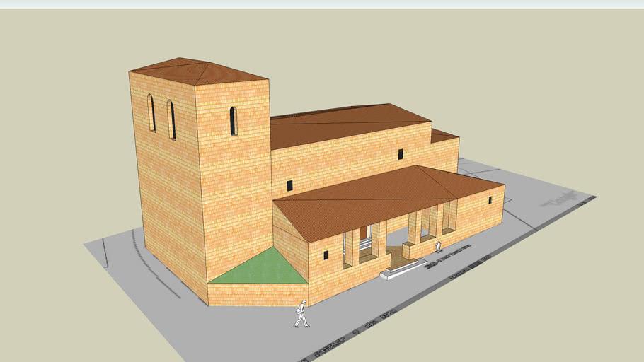 Centenera de Andaluz Iglesia romanica San Lorenzo XII/XIII